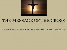 The Message of the Cross $12.95